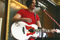 Jack Stripe: performed an exclusive gig for the Chelsea Pensioners at the RHC