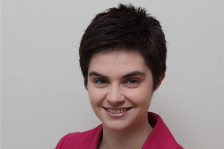 Unconvinced: Chloe Smith is not in favour of a universal register