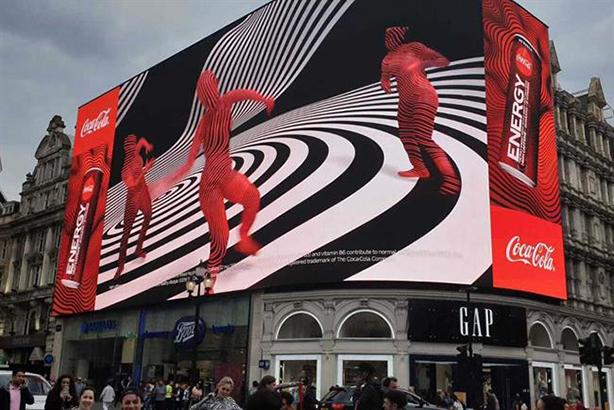 Coca-Cola: takeover in central London