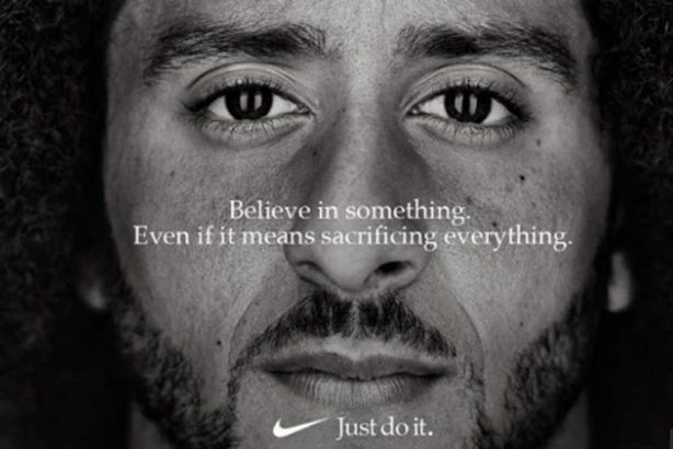 Nike's Colin Kaepernick campaign 'demonstrates the power and responsibility of brands to drive public debate and show moral leadership'.