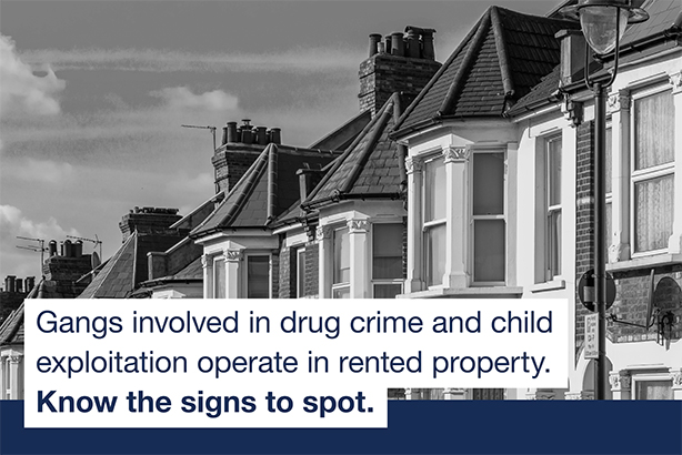 The Home Office has partnered the NLA for its new 'County lines' campaign
