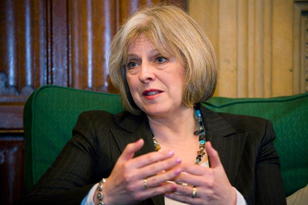 Theresa May: to push ahead with police service reform