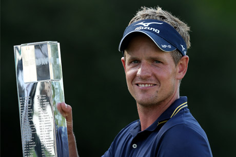 Revolution sports and entertainment: Mizuno ambassador Luke Donald winning the 2012 BMW PGA Championship at Wentworth