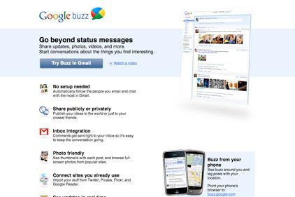 'Improved': GoogleBuzz