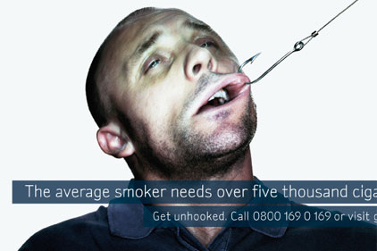 NHS campaign: hooked