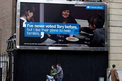 'Versatile': the Tory poster campaign