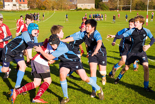 An Under-14s match in Bath (Credit: Richard Wayman / Alamy Stock Photo)