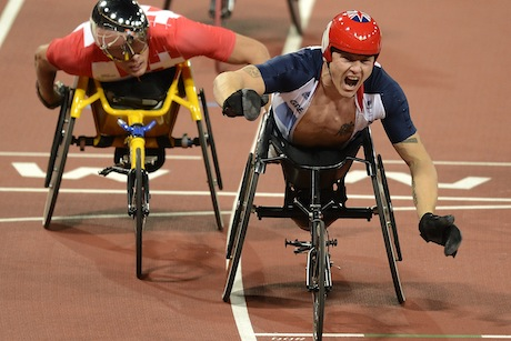David Weir: won four Paralympic gold medals at London 2012 (picture credit: Getty Images)