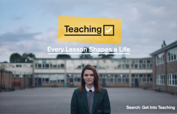 DfE recruitment campaign positions teachers as life-changers