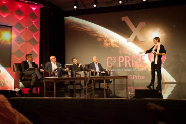 The five finalists for Astellas Oncology's C3 Prize presented on September 17.