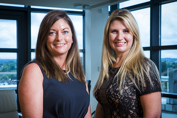 Direct Line's Claire Foster and Frances Browning
