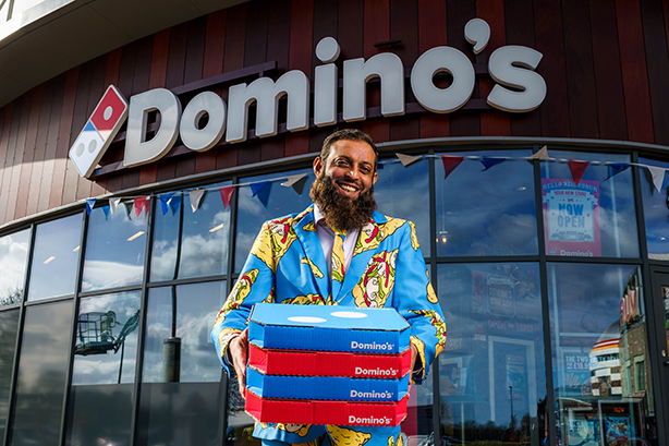 Domino's is growing rapidly and recently launched its 1,100th store