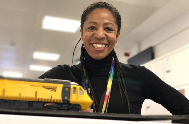 Donna Mitchell can tell you chapter and verse about why leaves on the line cause delays