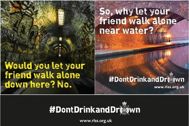 The Don't Drink and Drown campaign is being amplified across the public sector