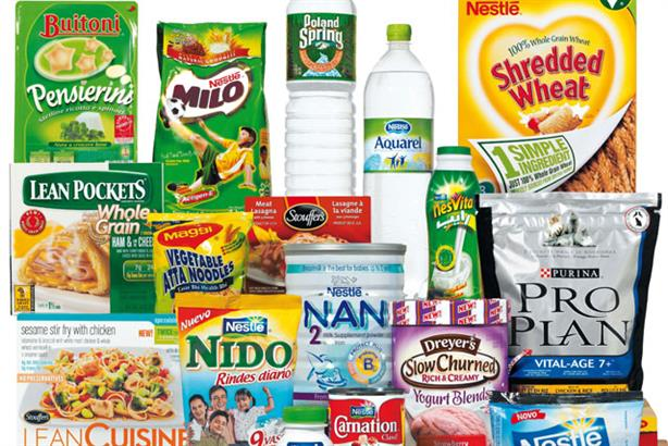 Food and drink: Nestlé revealed a rise in first-quarter profits