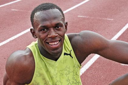 Backing West Ham's bid: Usain Bolt