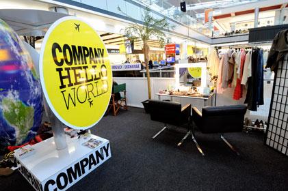 Company Magazine at Heathrow
