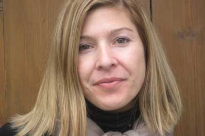 Oxfam head of media: Jen Corlew