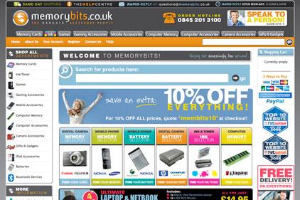 Online retailer: MemoryBits