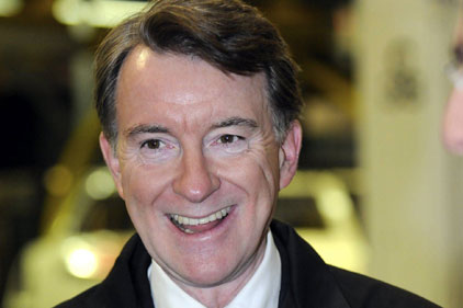 Mandelson: Not an exhausted volcano