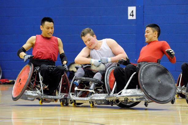 Training camp: paralympians