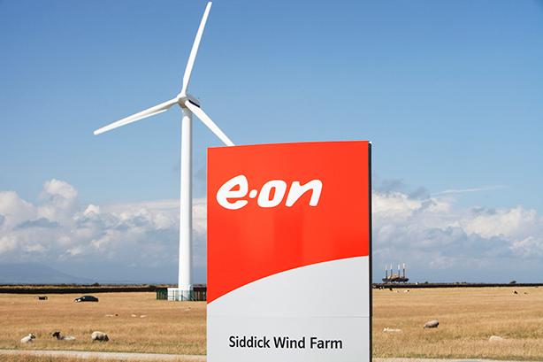 E.On is the operator of Siddick Wind Farm in Cumbria. (Photo by Ashley Cooper/Construction Photography/Avalon/Getty Images)