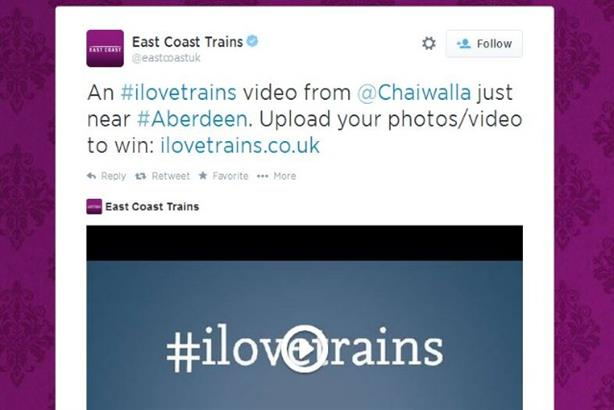 East Coast Trains: Paying to get user-generated video seen