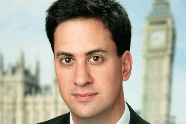 """Ed Miliband: the Labour leader described the appointment as """"excellent news"""""""