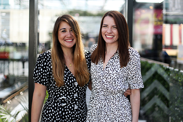 Account directors Emma Hawley and Sarah Harding head up the new consumer division