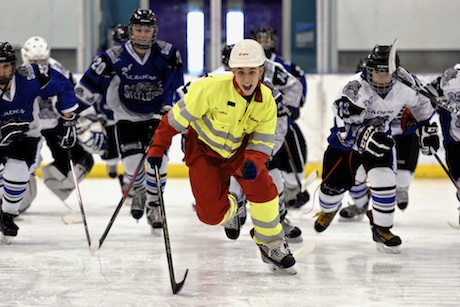 E.On: supplies power to the home of the Sheffield Steeldogs ice hockey team