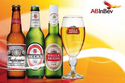 Well known: AB InBev's brands