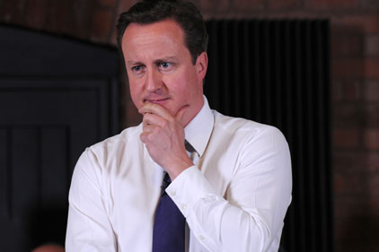 Cameron: warns of a 'crisis' if NHS proposals are blocked