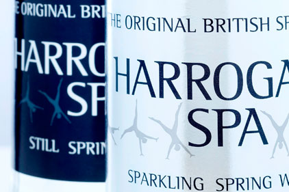 UK's first spa water: Harrogate Spa