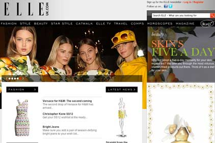 ELLEuk.com: aims to boost its profile