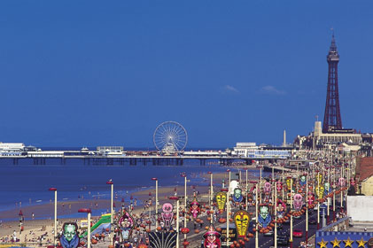 Attracting football tourists: Blackpool