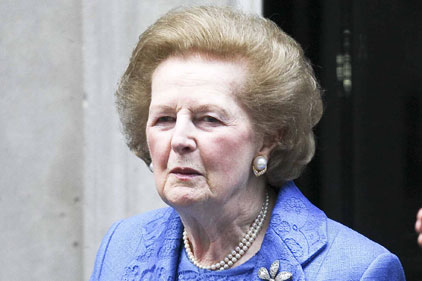 Thatcher: nice chat with Ken? Picture - Rex