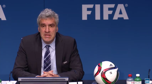 Walter De Gregorio: Fifa's director of communications and public affairs