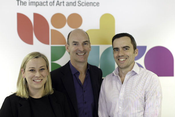 (l-r) First Based MD Faye Hawkins, Unlimited Group president Tim Bonnet, Nelson Bostock MD Nick Clark