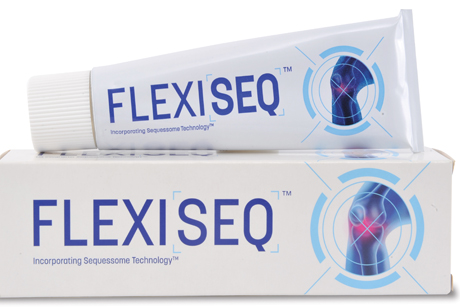 FLEXISEQ: Aimed primarily at the UK's nine million sufferers of osteoarthritis