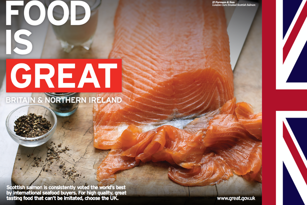 The 'Food is GREAT' campaign is on the way to achieving its 2020 target for exports