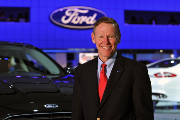 Outgoing Ford CEO Alan Mulally