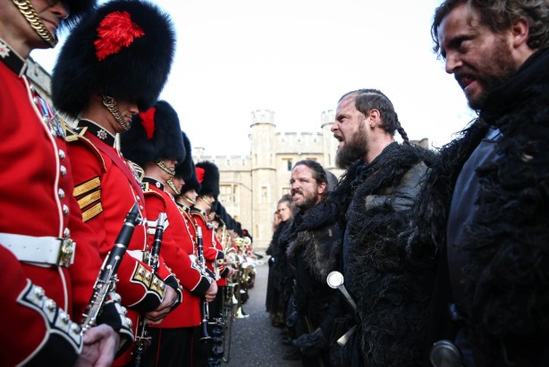 The Coldstream Guards meet the Night's Watch