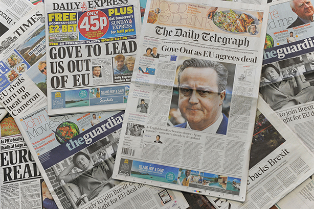 Are Brexit voices winning the media battle? (pic credit: DANIEL SORABJI/AFP/Getty Images)