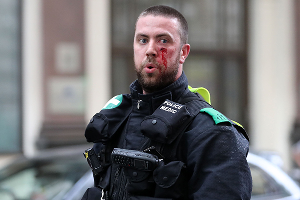 The 'Protect the Protectors' campaign resulted in doubling maximum sentences for assaults on emergency staff (©DANIEL LEAL-OLIVAS/AFP/GettyImages)