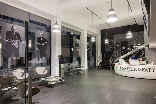 Grey London has been transformed into Valenstein & Fatt for 100 days