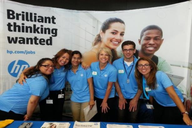 HP leads way in insisting its agency partners are genuinely diverse (Image via HP Careers blog)