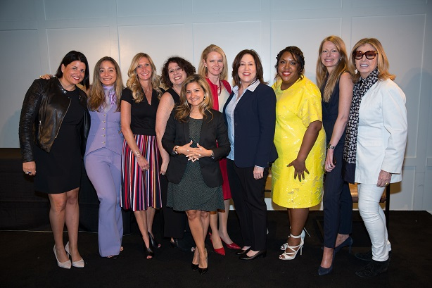 Honorees celebrate empowerment at PRWeek's Hall of Femme event Weds (Pic: Erica Berger).