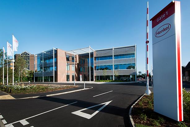 Henkel's UK headquarters at Hemel Hempstead.