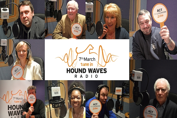 Hound Waves: several celebrities and entertainers will be heard on the station