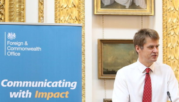 Hugh Elliott asks, 'Are we the champions of digital diplomacy?' (pic credit: FCO)